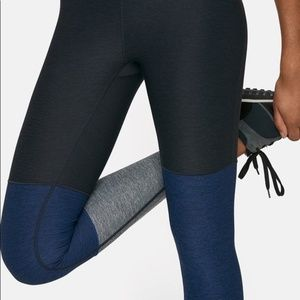 Outdoor Voices Charcoal Navy Blue Gray Legging